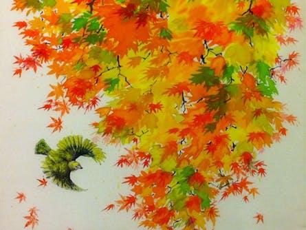 ChiJian Ye Silk Painting Exhibition