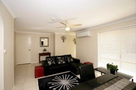 Lounge area at Central Wagga Self Catering Apartments: Wynyard on Forsyth