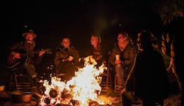 Image of the event 'Fire Feast at the Greenhouse'