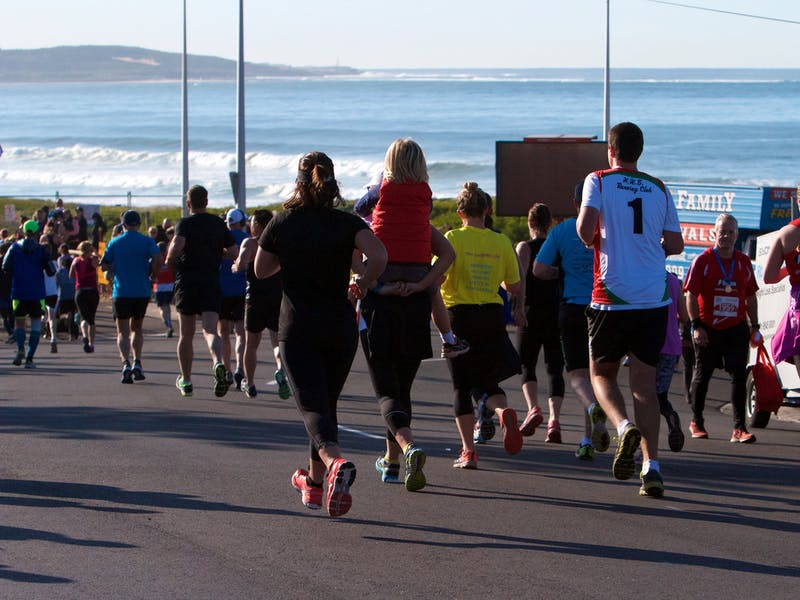 Heading To The Finish Line At PAYCE Sutherland 2 Surf