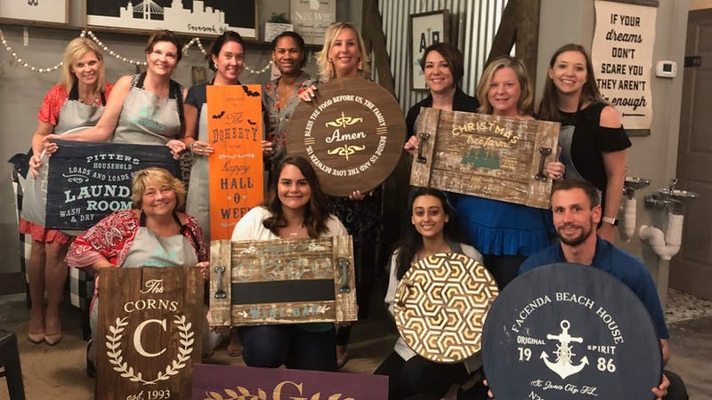 DIY Wood Signs Workshop