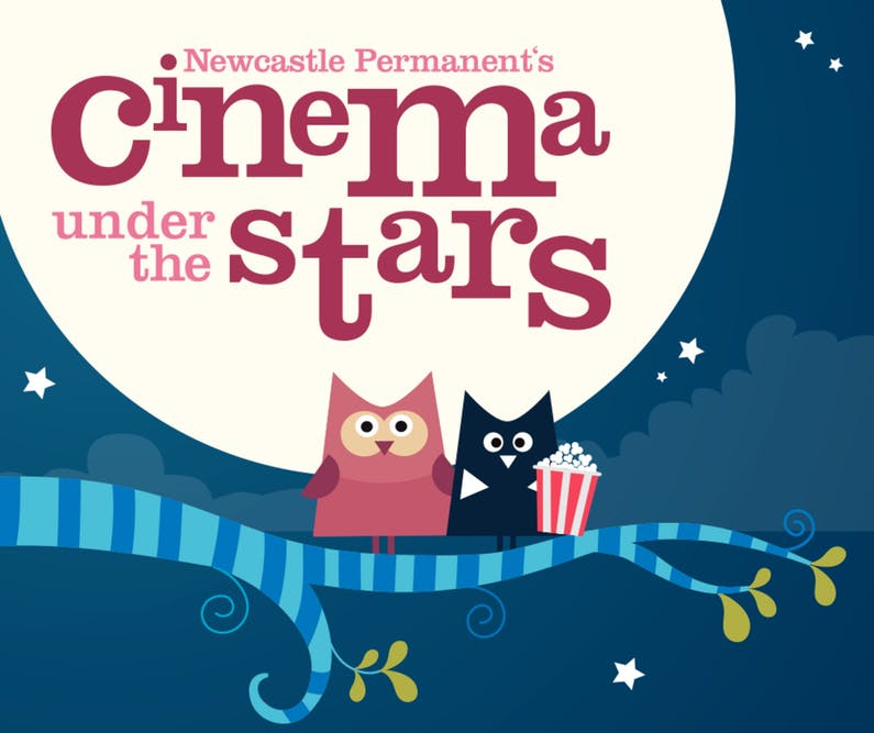 Image of the event 'Newcastle Permanent's Cinema Under the Stars - Newcastle'