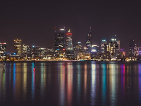 Night Photography Class - Perth City
