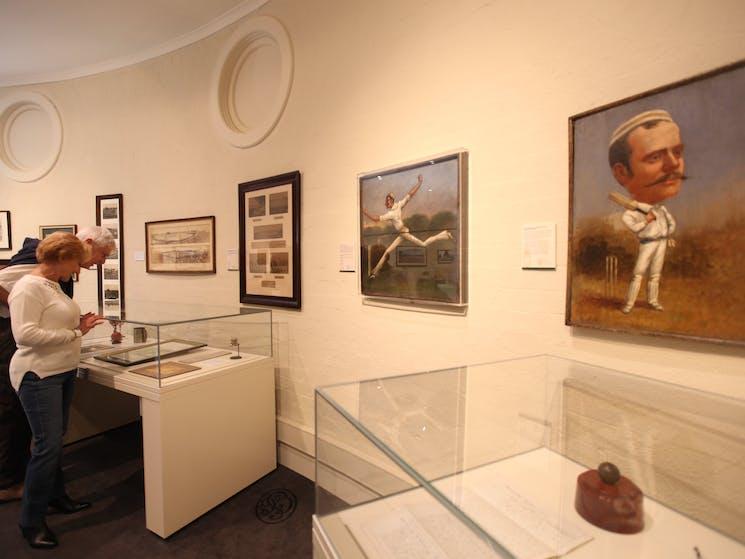 Inside SCG Museum