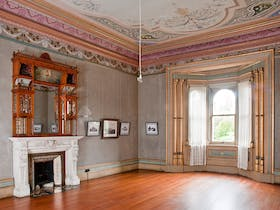 Drawing Room, Villa Alba Museum