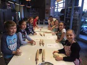 School Holidays Kids Pizza Making Class at Salt Meats Cheese