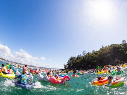 Manly Inflatable Boat Race 2018