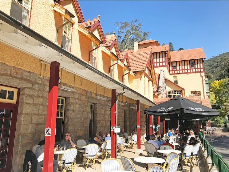 The Caves Cafe is open daily for light lunch, drinks and snacks