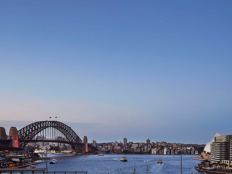 Capturing the essence of Sydney from the terrace