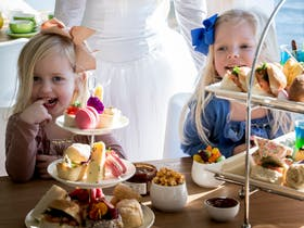 Kids can enjoy a children&#226&#128&#153s version of Searoad Ferries' regular High Tea including a tiered platter of sweet and savoury treats, soft drink, juice or hot chocolate. All this while