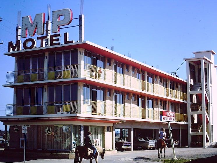 Mid Pacific Motel 1960s
