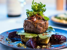 Fine dining on offer at Sea Fire Steak and Seafood Restaurant