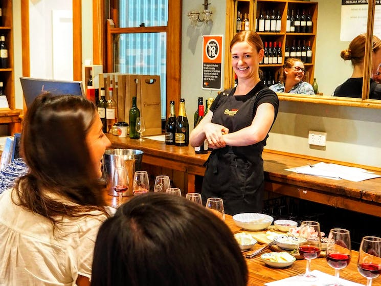 Pinot Masterclass - Taste of the Highlands gourmet food and wine tour from Sydney