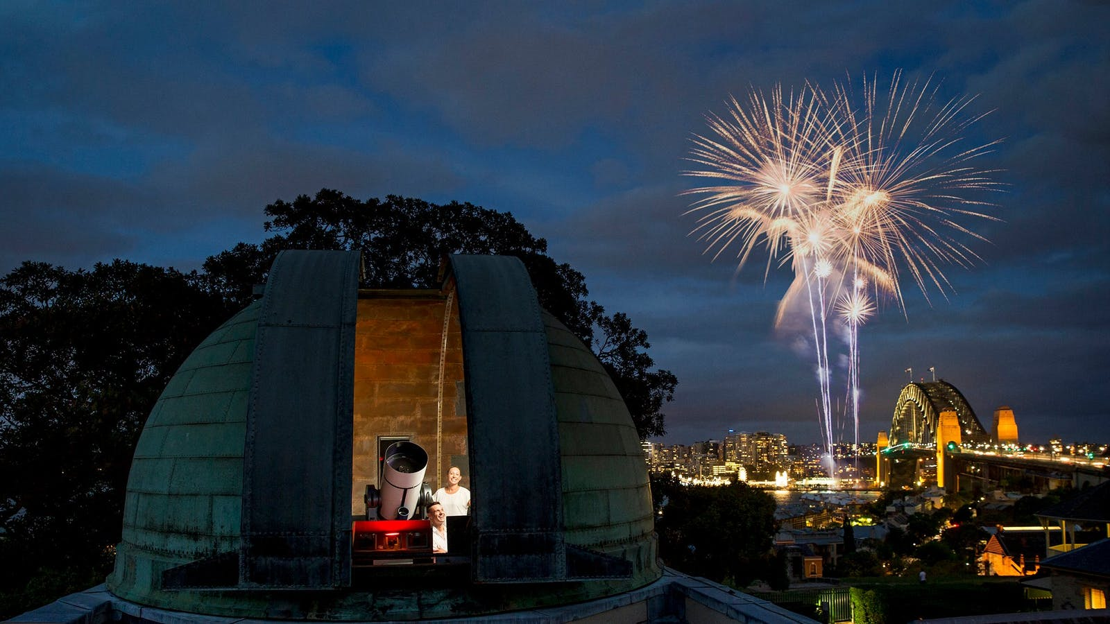 Image for New Year's Eve at the Sydney Observatory