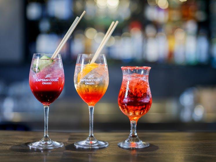 Extensive cocktail list