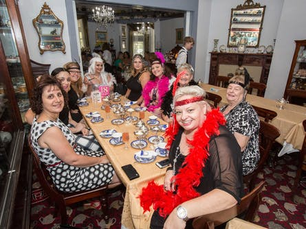 Diamonds are a Girl's Best Friend Roaring 20s High Tea