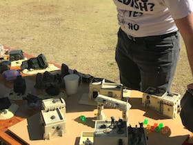 Crossroads Convention is a tabletop hobby convention put together by Mallee Tabletop Games Inc to bring tabletop gamers and interest in the hobby to the area. The Tabletop hobbies showcased