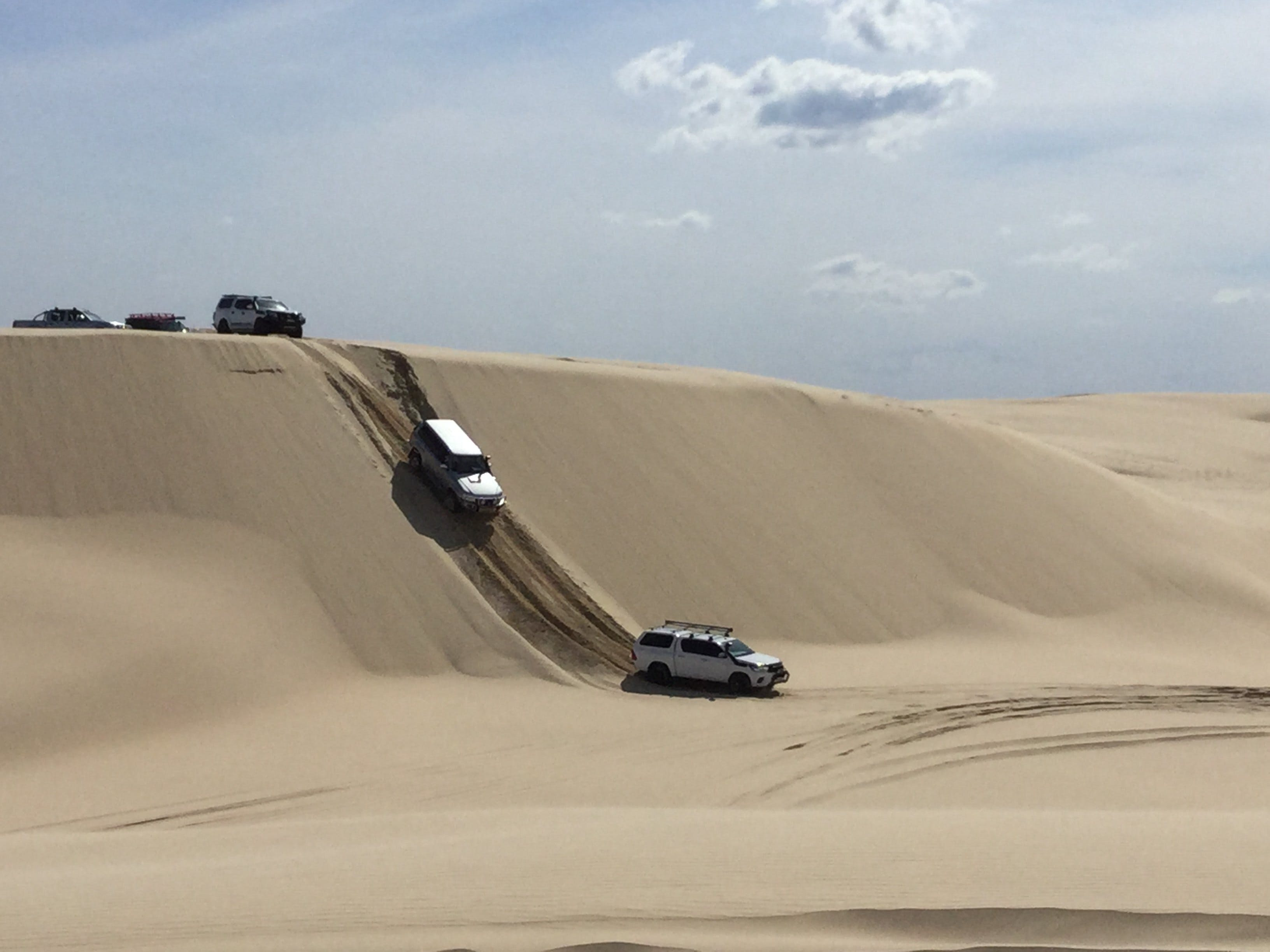 Playing on the Dunes