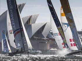 Extreme Sailing Series Act Eight Sydney presented by Land Rover
