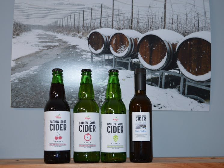 Hand crafted natural cider