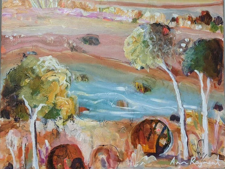 Inland - Anne Rayment