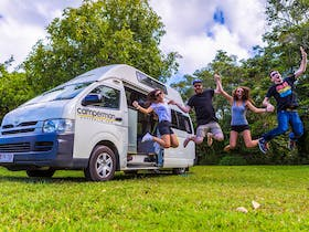 Campervan backpacker friendly