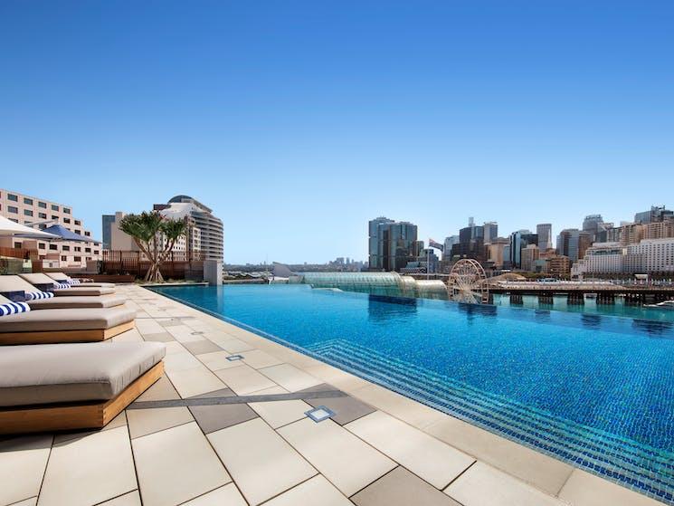 Sofitel Sydney Darling Harbour Le Rivage Pool Bar