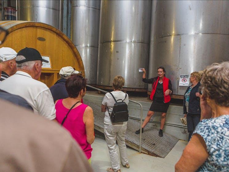 Cassegrain Winery Tour