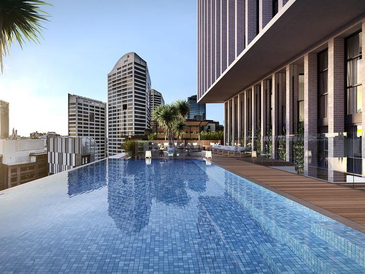 Crowne Plaza Sydney Darling Harbour Rooftop Heated Infinity Pool