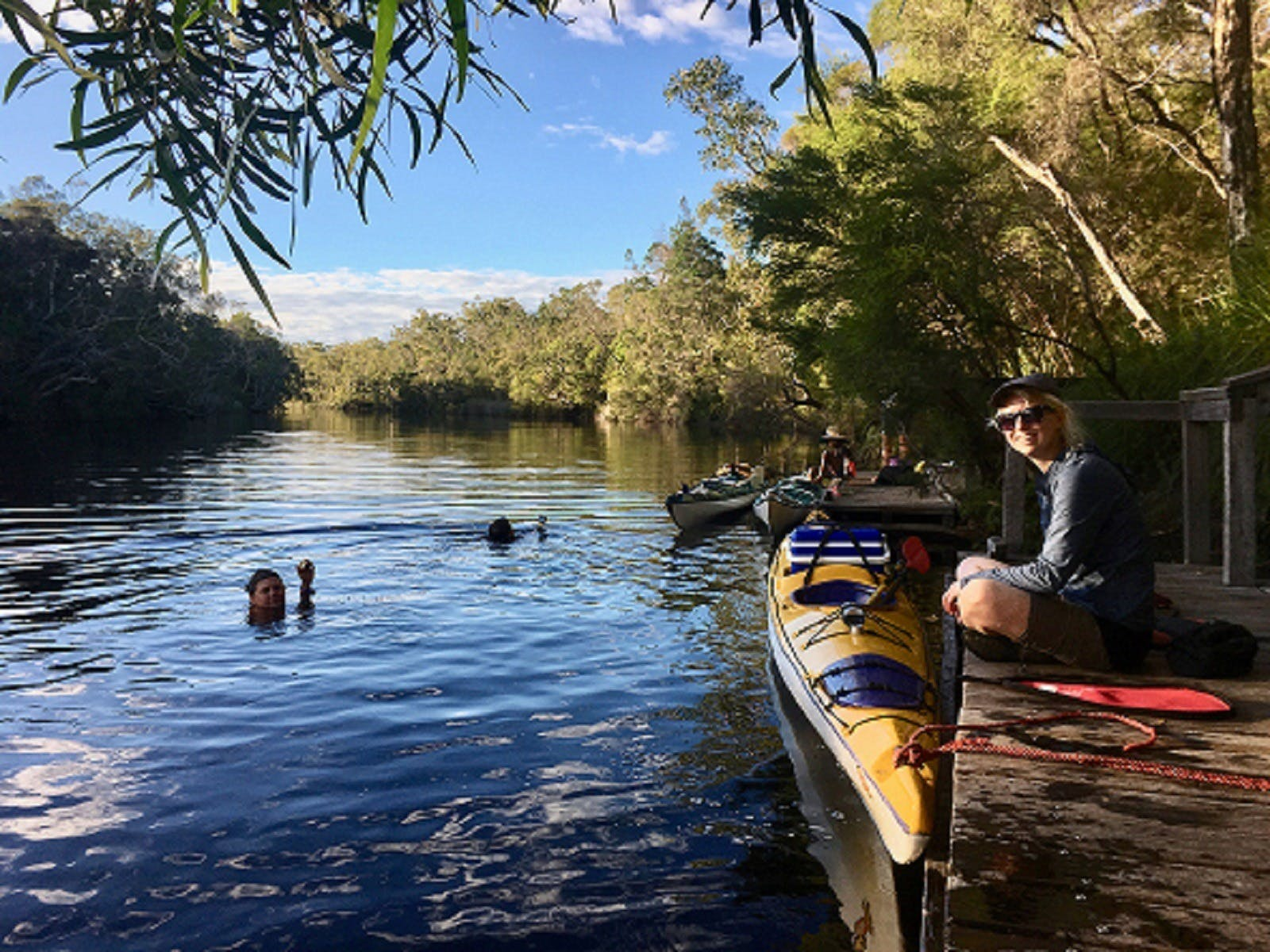 50% off up to $100 on a 2 Day Kayak Adventure for 2