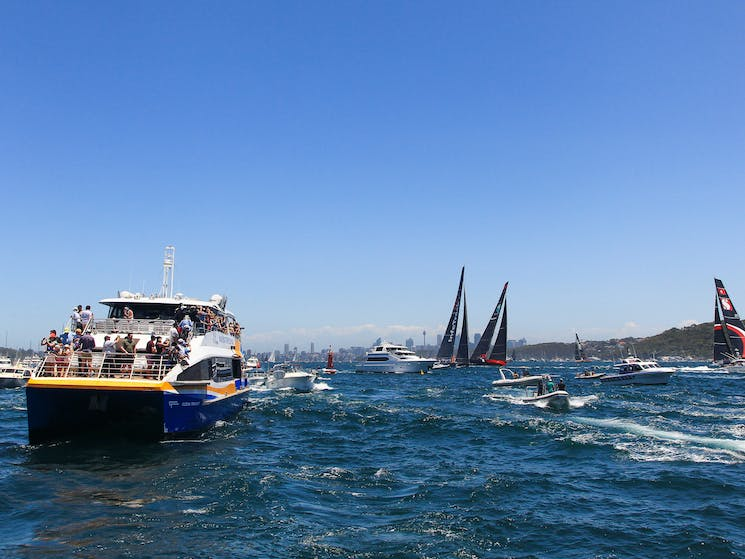 Sydney To Hobart Yacht Race On Boxing Day