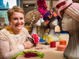 Millinery Workshop with Johanna Guerin - Cloche Hat