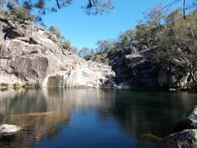 Maidenwell Coomba Falls swimming hole