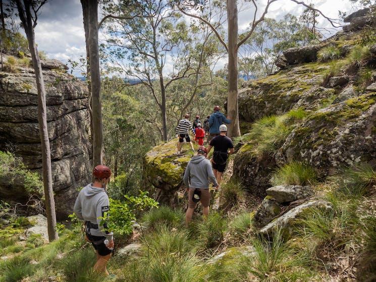 Nowra Shoalhaven South Coast Rock Climb Abseil Adventure things to do Fun challenge bucks ideas