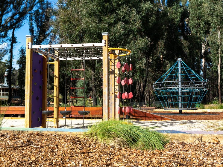 Children's playground at the Garden