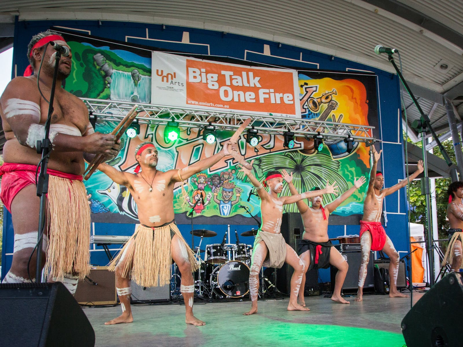 Image for Big Talk One Fire Cultural Festival