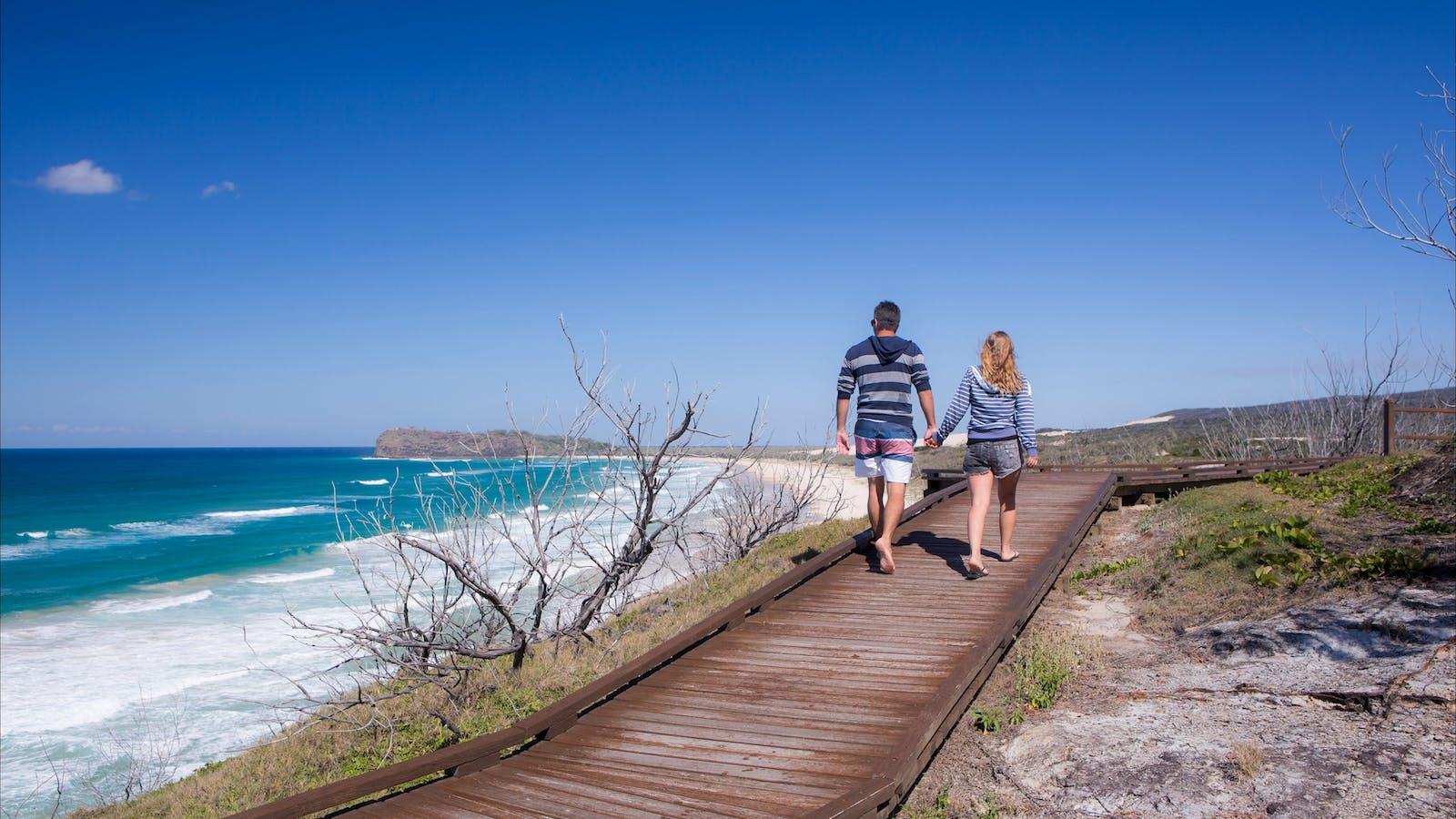 Day 3 - Rainbow Beach to Fraser Island