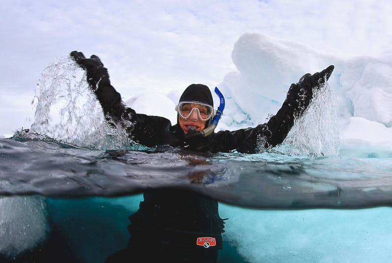 Image of the event 'State of the Oceans with Sylvia Earle'