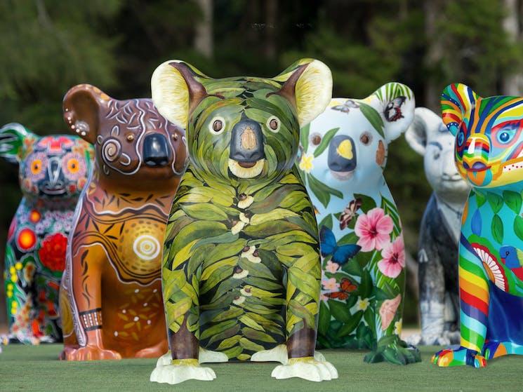 Hello Koalas Sculptures