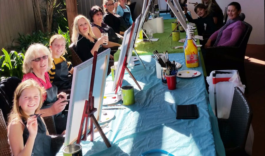 Paint, Sip, Party at Bago Tavern Wauchope