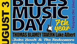 Image of the event 'International Blues Music Day presented by Bidgee Blues Club Inc'