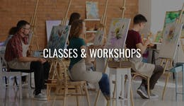 Image of the event 'Paint and Sip Class - Dandelions'