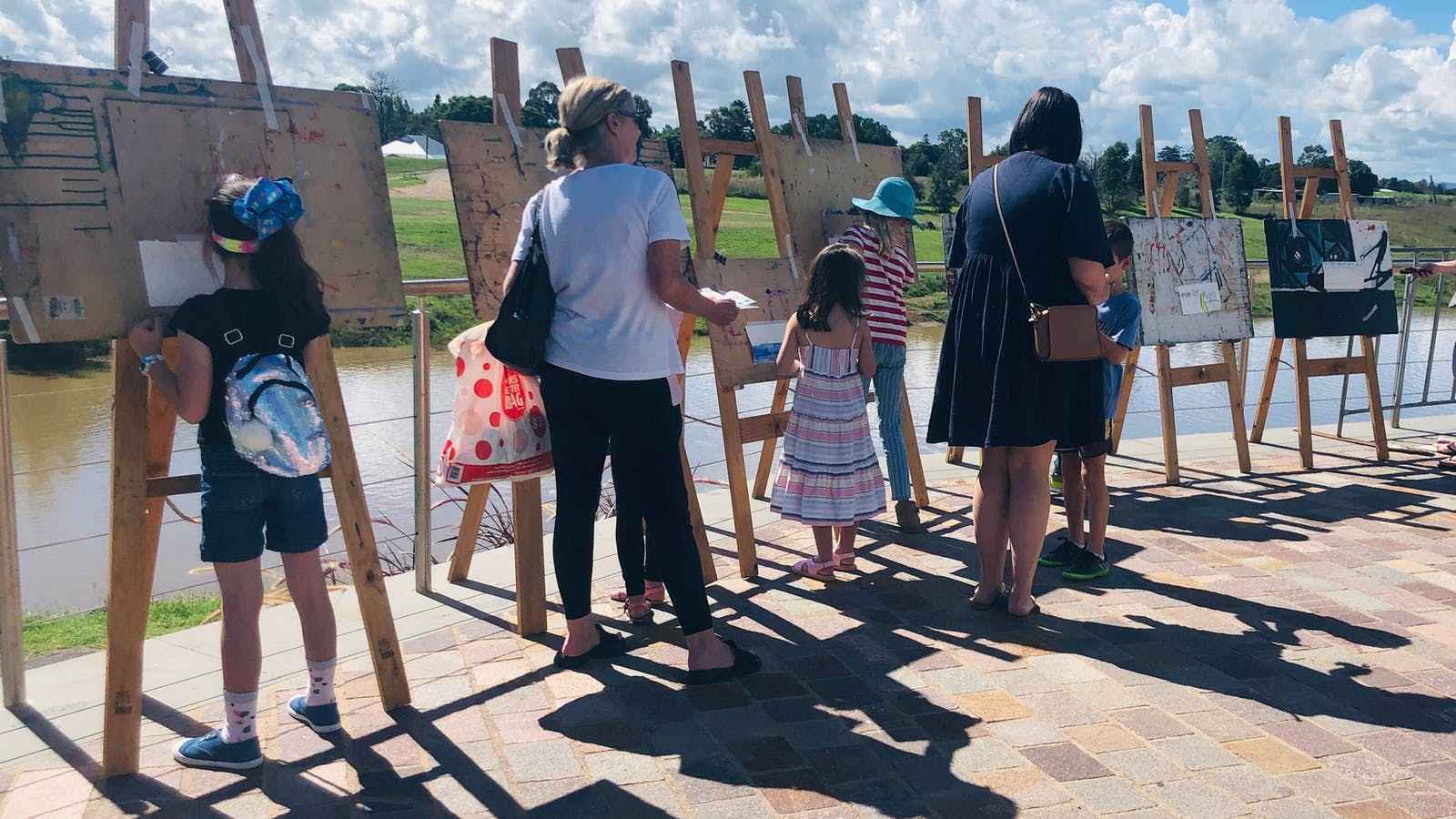Free Art by The River