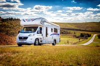 Let's Go Journey Motorhome - perfect for a road trip and camping with the family