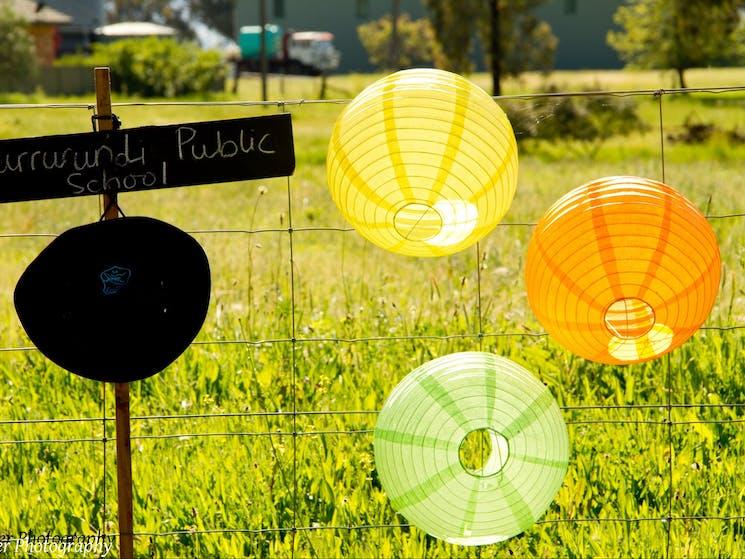 Murra Public School Lanterns