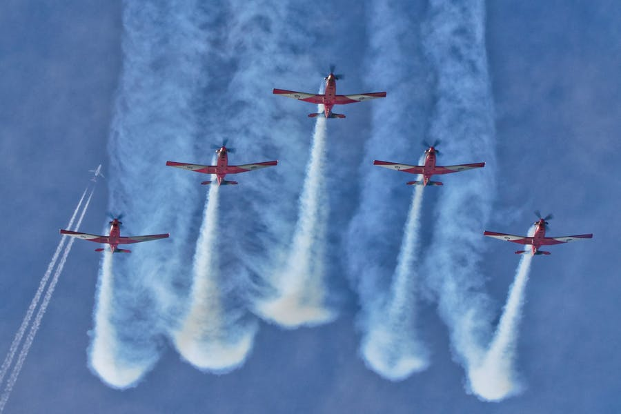 Wings Over Illawarra - RAAF Roulettes