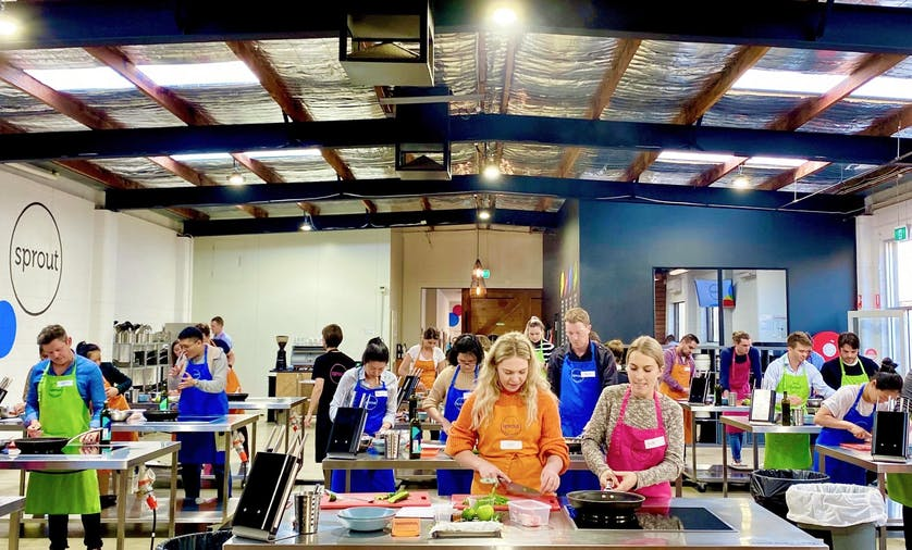 Sprout Adult Cooking Classes