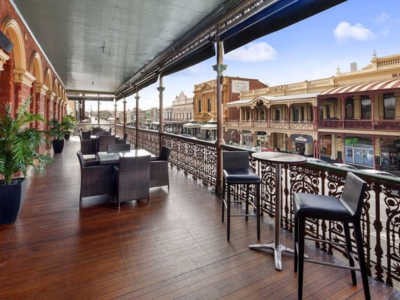 Brunch it at the George