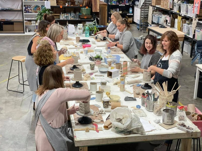 Image for Intro to Pottery Wheel Workshop