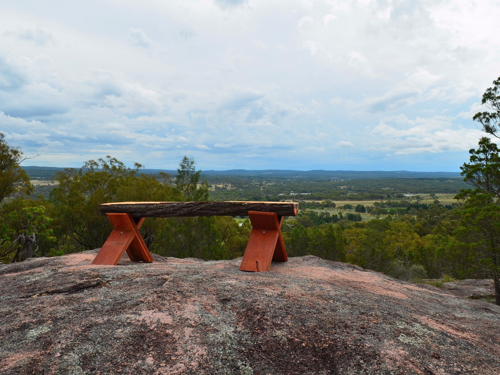 Rest seat at our Lookout